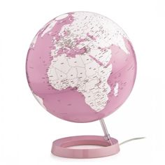 World globe L&C Bright Pink by Atmosphere