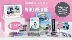Damsel in Defense | Who We Are