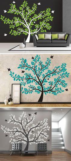 Imposanter Wandtattoo Baum