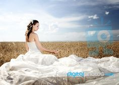 Beautiful Bride Alone this is so amazing...and so unexpectedgood