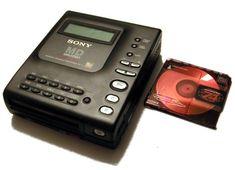 Sony MZ-1 First MiniDisc Walkman 1993