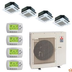 1000 images about air conditioner on pinterest air for Small heating systems