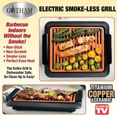 Gotham Steel Smokeless Indoor Grill$54.95 USD #onselz