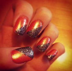Fall Nails! #BRIGHT!! :)