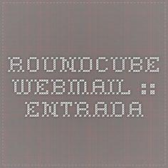 Roundcube Webmail :: Entrada