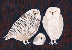 My Owl Barn: Happy Friday! + Colorful Artwork by Machiko Kaede Owl Artwork, Colorful Artwork, Art And Illustration, Japanese Artists, Art Design, Animal Paintings, Bird Art, Oeuvre D'art, Painting Inspiration