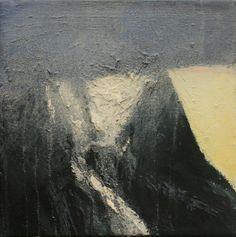 Available for sale from Purdy Hicks Gallery, Ornulf Opdahl, Glacier Oil on canvas, 40 × 40 cm Alesund, Landscape Artwork, Art For Art Sake, International Artist, Abstract Art, Illustration Art, Fine Art, Gallery, Outdoor