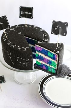 How to make a Zodiac Constellation Cake Recipe