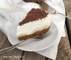 Cake in 5 minutes, or banoffee pie- Ciasto w 5 minut, czyli banoffee pie Cake in 5 minutes, or banoffee pie – Primi Piatti - Sweets Cake, Cookie Desserts, Cupcake Cakes, Sweet Recipes, Cake Recipes, Dessert Recipes, Pie Cake, No Bake Cake, Banoffi Pie