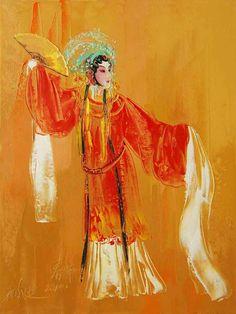 Peking Opera Drunken Beauty