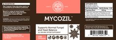 Mycozil: All-Natural Cleansing of Yeast & Fungal Organisms
