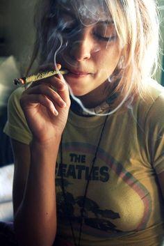 blunts and beatles  ( marijuana cannabis )