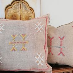 Neutral Cactus Silk Cushions are now back in stock Cushion Covers, Moroccan, Color Pop, Vibrant Colors, Cactus, Neutral, Artisan, Cushions, Throw Pillows