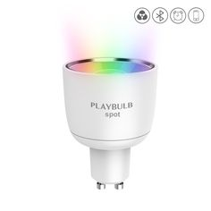 PLAYBULB Smart GU10 Led Spotlight, Color Changed, Indoor RGB Stage Light. APP Control Color-Changing, timer, Effects and other Modes.