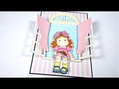"Tarjeta ""A través de la ventana"" Magnolia | Cardmaking | San Valentín #2"