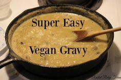 Super Easy Vegan Gravy