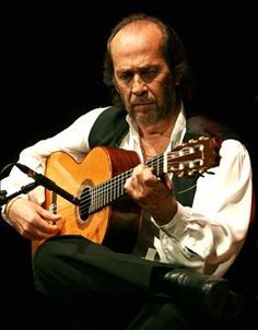 Famous Paco de Lucia [flamenco guitarist] Spain