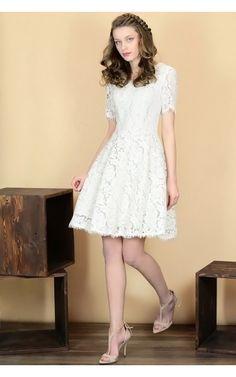 Photo Koronkowa sukienka LIMA2 ecru #3