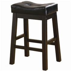 """Sofie 24"""" Upholstered Seat Bar Stool by Coaster - 3 Day Furniture Inc. - Bar Stool"""