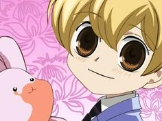honey senpai from Ouran High School Host Club   he is 17 years old
