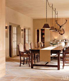 Дом в Испании Дизайнеры Майкл Сьютрик и Кристин Бекерт