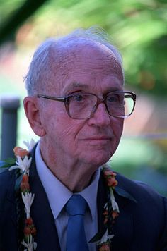 James Albert Michener (/ˈmɪtʃnər/;[1] February 3, 1907 – October 16, 1997) was an American author of more than 40 titles, the majority of which were sweeping family sagas, covering the lives of many generations in particular geographic locales and incorporating historical facts into the stories. Michener was known for the meticulous research behind his work.[2] Michener's major books include Tales of the South Pacific (for which he won the Pulitzer Prize for Fiction in 1948)