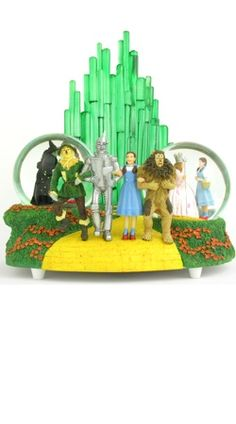 Wizard of Oz Emerald City Snow Globe