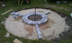 How to build a fireplace with a bench for your own garden. Working time approx. 2 days.