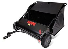 Product review for Brinly STS-427LXH 20 Cubic Feet Tow Behind Lawn Sweeper, 42-Inch. Raking leaves can be a big job and one that must be done multiple times in a fall season and fallen leaves and other yard debris can lead to thatch build up if not removed. The Brinly lawn sweeper with its large 42 inch working width and 20 cubic foot hamper helps get your fall yard clean up...