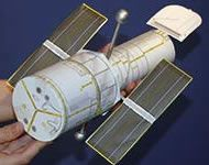 Here are several different sets of directions to make a scale model of NASA's Hubble Space Telescope. These models aren't working telescopes, but they can give students an up-close look at the telescope's structure.