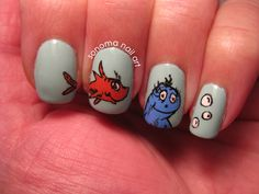 56 best Dr Seuss nail art images on Pinterest | Dr suess, Nail art ...