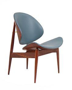 Seymour James Weiner; Walnut Chair for Kodawood, c1960.