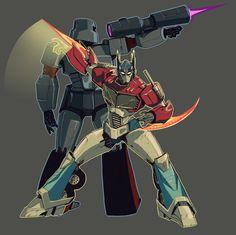 Optimus & Megatron
