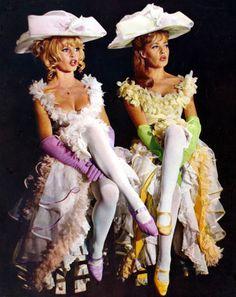 Brigitte Bardot and Jeanne Moreau in Viva Maria