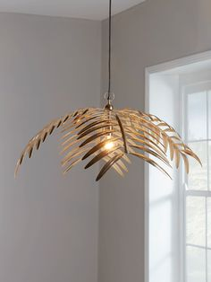 Our eye catching palm leaf pendant light with a wonderful gold finish will light up any room with drama, casting a shimmering light when illuminated. An exciting form of layered leaves will add Deco opulence to a dark toned room, or serve as a wonderful Ceiling Lights Uk, Ceiling Light Shades, Ceiling Rose, Gold Ceiling Light, Lamp Shades Uk, Lighting Uk, Pendant Lighting, Light Pendant, Interior Lighting