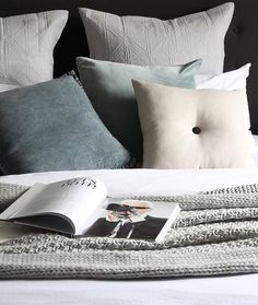 Nothing better than hopping in to bed after a busy weekend Love the calming colour palette here by @houseofharvee