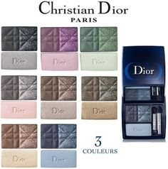 Dior 3 colors smokey eye palette review Dior has reinvented the smoky eye thanks to a new 3-Colours Smoky palette. A chiaro-scuro variation of effects and textures, this eye shadow trio provides infinite, easy, custom-made smoky eyes.