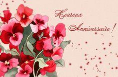 Heureux Anniversaire! #anniversaire heureux anniversaire bouquet fleurs