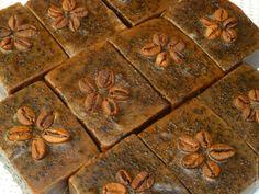 """Купить Натуральное мыло """"Кофейное"""" - коричневый, мыло, Мыло скраб, для дачи, от запахов, кофе"""