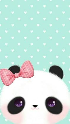 I love this one this one is soooooo cute Panda Wallpaper Iphone, Emo Wallpaper, Cute Panda Wallpaper, Flowery Wallpaper, Panda Wallpapers, Flower Phone Wallpaper, Kawaii Wallpaper, Animal Wallpaper, Cute Wallpapers