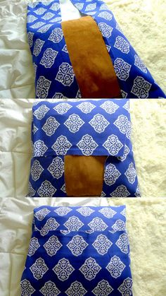 DIY: No- Sew Pillow ~ SILVER PENCILS - seriously it is now sew and sounds like it would take10 minutes.