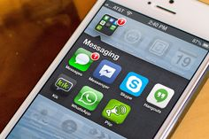 Penetración de las aplicaciones de mensajería por países