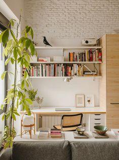 Home Office Design, Home Office Decor, House Design, Interior Architecture, Interior And Exterior, Interior Design, Living Spaces, Living Room, Decoration