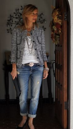 Mode Outfits, Fall Outfits, Summer Outfits, Casual Outfits, Fashion Outfits, Womens Fashion, Over 40 Outfits, Classic Outfits, Ladies Fashion