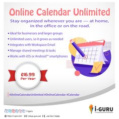 #Iguru #Graphics #WebsiteDesign #websiteDevelopment #IOSAppDevelopment #AndroidAppDevelopment #MobileappDevelopment #Software #CRM #Print #OnlineCalendarUnlimited #OnlineCalendar #Calendar Online Calendar, Staying Organized, It Works, Software, Organization, Graphics, Getting Organized, Organisation, Graphic Design