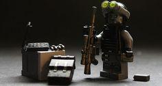 Lego black ops sniper. Lego Soldiers, Lego Ww2, Lego Army, Lego Custom Minifigures, Lego Minifigs, Lego Videos, Battlefield 3, Lego People, Custom Lego