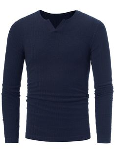 V Neck Stretchy Ribbed Sweater