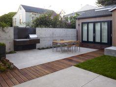 Outdoor Kitchen by Christopher Yates via Garden Design Blog