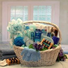 Mother's Day Gift Basket - The Spa Experience Gift Basket