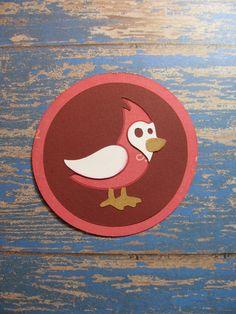 Campin Critters Badge - Bird